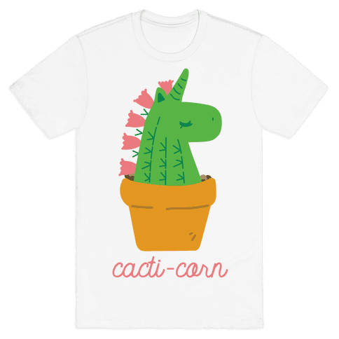 Cacti-corn Mens T-Shirt