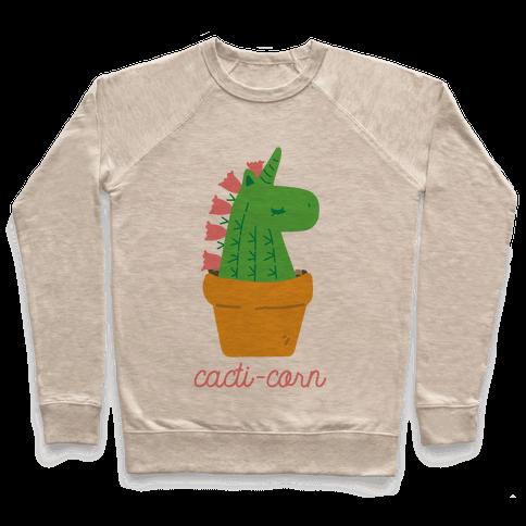 Cacti-corn Pullover