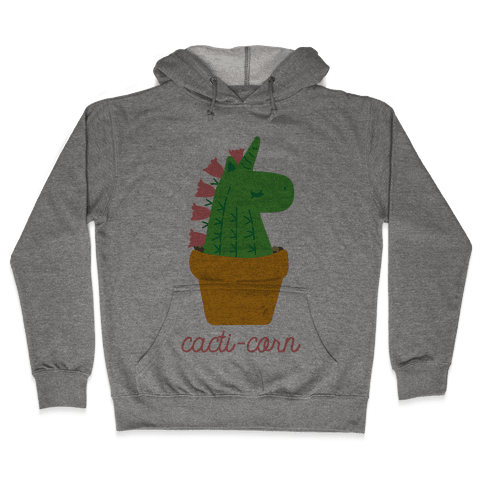 Cacti-corn Hooded Sweatshirt