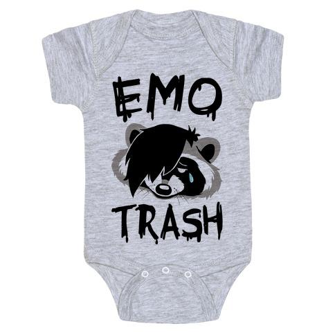 Emo Trash Baby Onesy