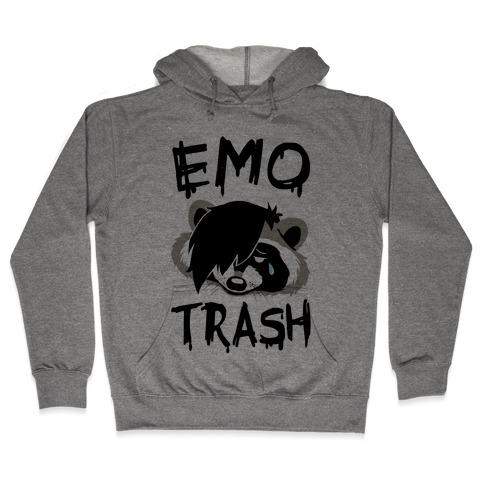 Emo Trash Hooded Sweatshirt
