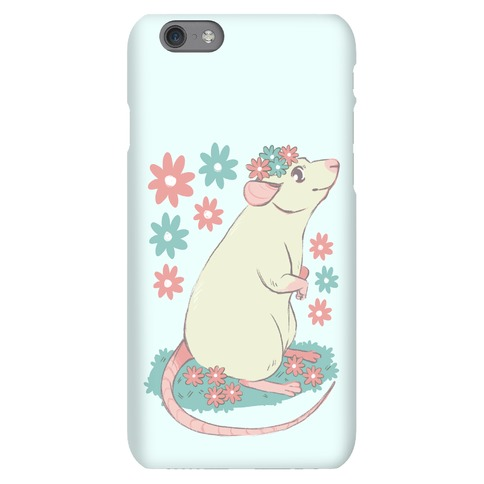 Soft Pastel Rat Phone Case