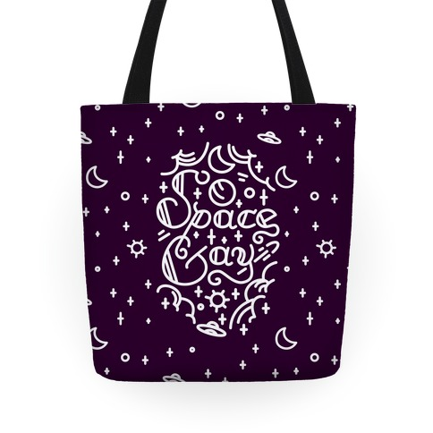 Space Gay Tote