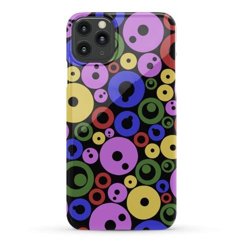 Bloobles Dark Pattern Phone Case