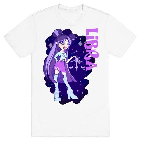 Zodiac Dollz: Libra T-Shirt