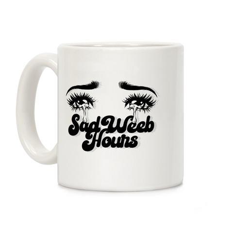 Sad Weeb Hours Coffee Mug