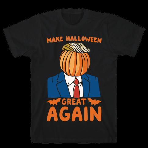 Make Halloween Great Again Parody White Print
