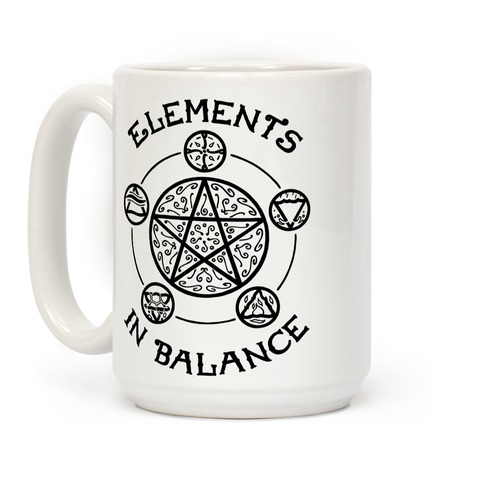 Witch's Elements In Balance Coffee Mug