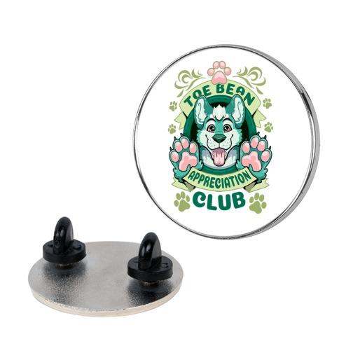 Toe Bean Appreciaton Club Pin