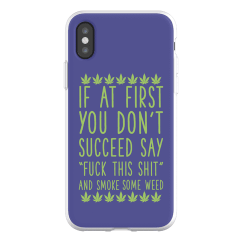 Smoke Some Weed Phone Flexi-Case