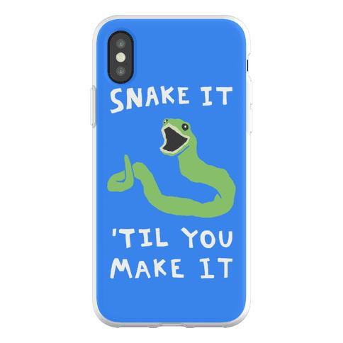 Snake It 'Til You Make It Phone Flexi-Case