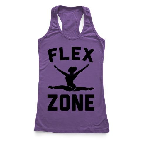 Flex Zone Gymnastics Racerback Tank Top