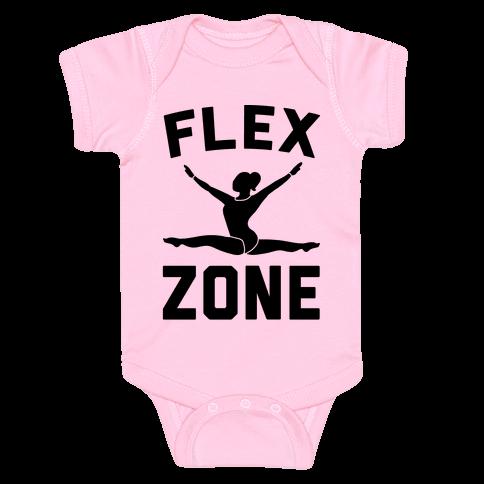 Flex Zone Gymnastics Baby Onesy