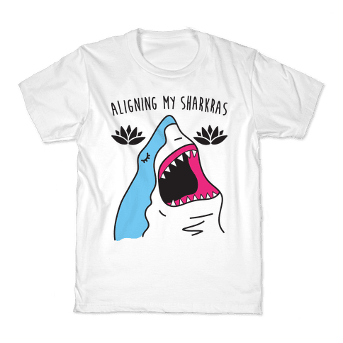 Aligning My Sharkras Kids T-Shirt
