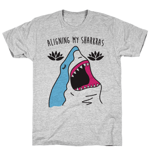 Aligning My Sharkras Mens T-Shirt