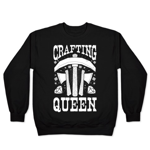 Crafting Queen Pullover