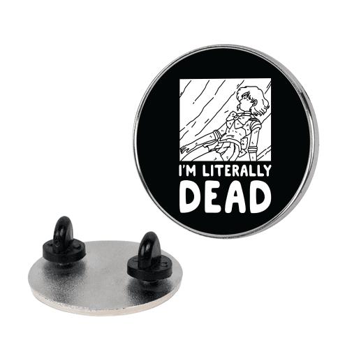 I'm Literally Dead Sailor Mercury Pin