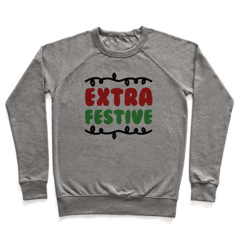 Extra Festive  Pullover