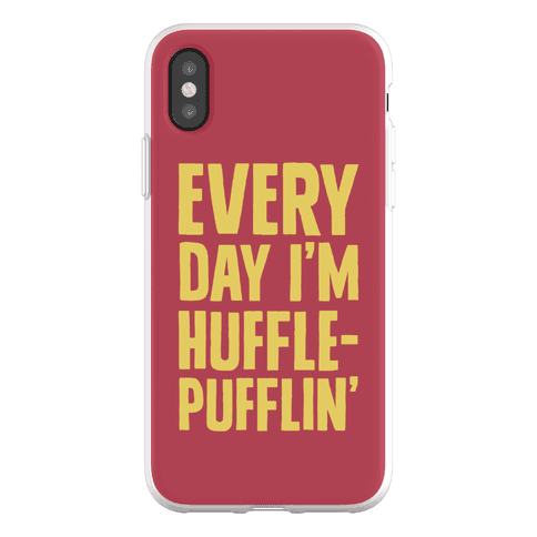 Every Day I'm Hufflepufflin Phone Flexi-Case