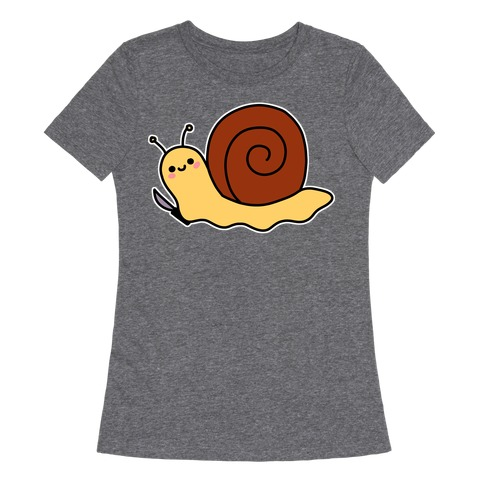 Snail With Knife Womens T-Shirt