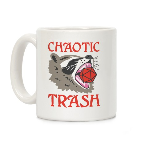 Chaotic Trash (Raccoon) Coffee Mug