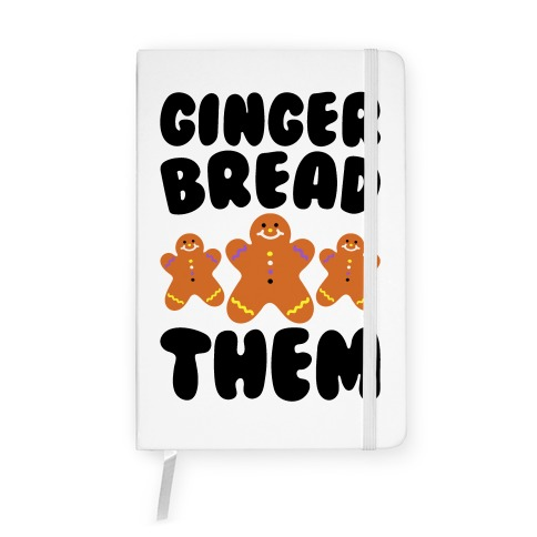 Ginger Bread Them Notebook