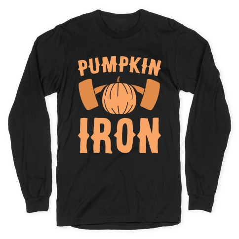 Pumpkin Iron Long Sleeve T-Shirt