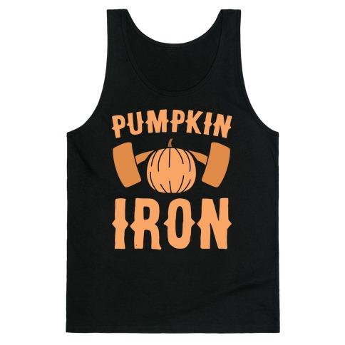 Pumpkin Iron Tank Top