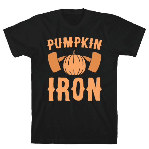 Pumpkin Iron Mens T-Shirt