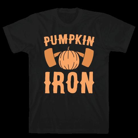 Pumpkin Iron Mens T-Shirt