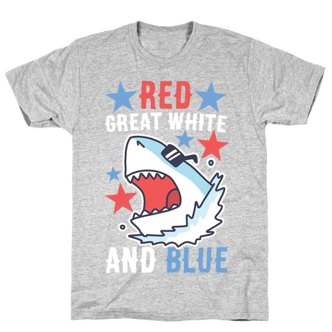 Red, Great White and Blue T-Shirt