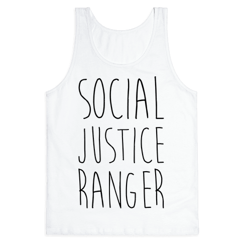 Social Justice Ranger Tank Top