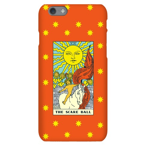 The Scare Ball Tarot Phone Case