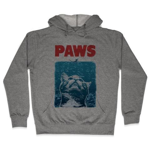 PAWS (Vintage Parody) Hooded Sweatshirt