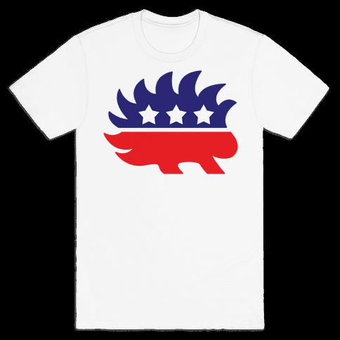 Libertarian Mascot Mens T-Shirt