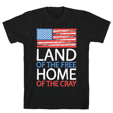 Home of the Cray Mens T-Shirt