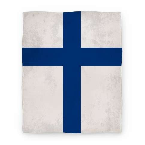 Flag of Finland Blanket