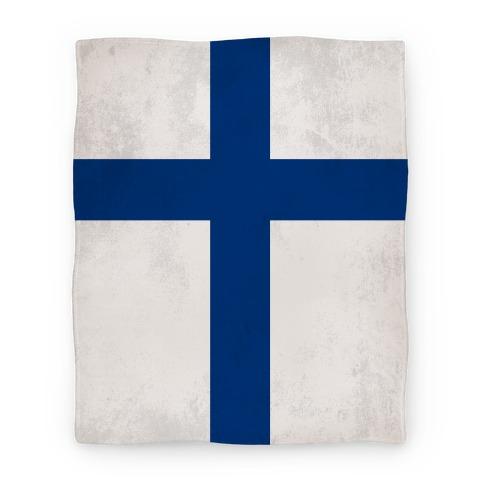 Flag of Finland Blanket