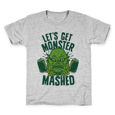 Let's Get Monster Mashed Kids T-Shirt