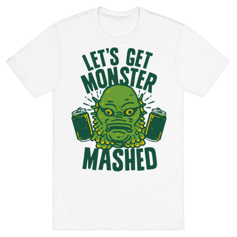 Let's Get Monster Mashed Mens T-Shirt