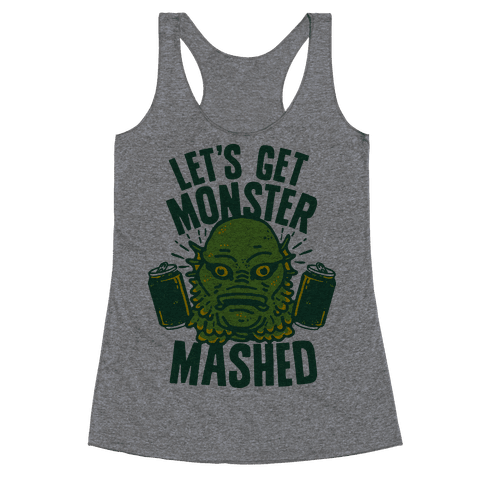 Let's Get Monster Mashed Racerback Tank Top