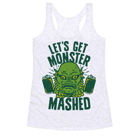 Let's Get Monster Mashed Racerback Tank Top