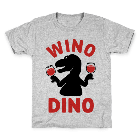 Wino Dino Kids T-Shirt