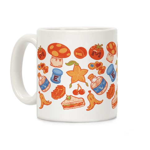 Gamer Food Items Coffee Mug