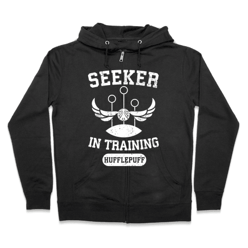 Seeker In Training (Hufflepuff) Zip Hoodie