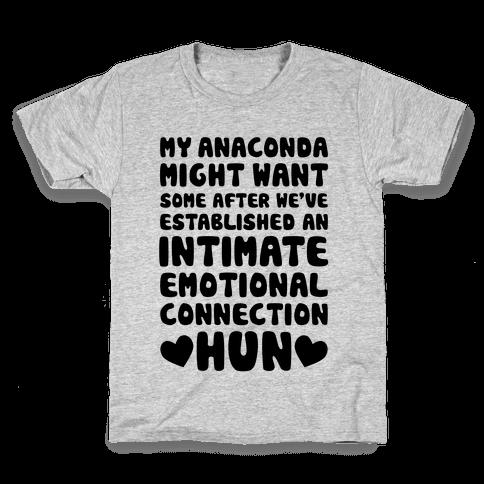 My Anaconda Might Want Some Kids T-Shirt