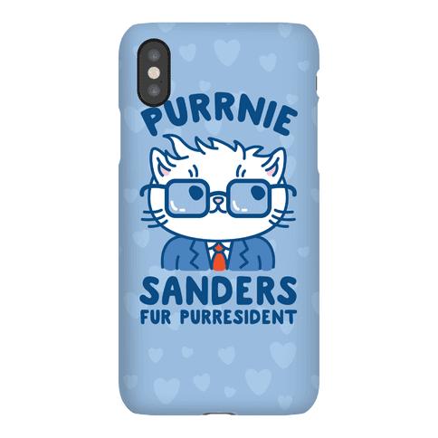 Purrnie Sanders Fur Purresident Phone Case