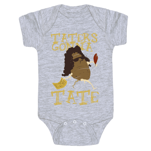 Taters gonna Tate Baby Onesy