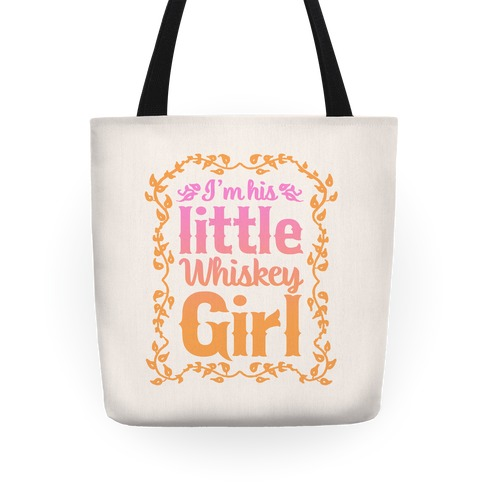 Little Whiskey Girl Tote