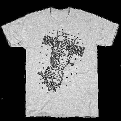 Soyuz-TMA Cross Section Mens T-Shirt